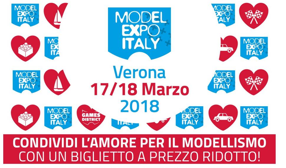 Da oggi è possibile acquistare sul sito il biglietto di Model Expo Italy