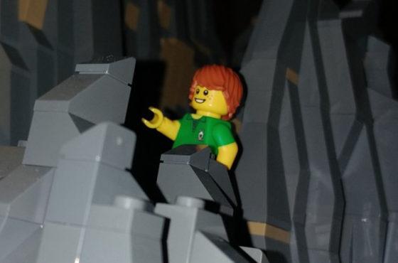 Le Tre Cime di Lavaredo con 105mila mattoncini LEGO®