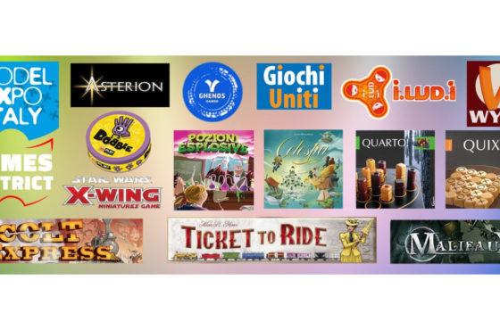 A Model Expo Italy gli editori presentano giochi e anteprime