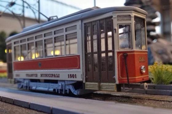 A Model Expo Italy arrivano i modelli dei tram della città di Torino