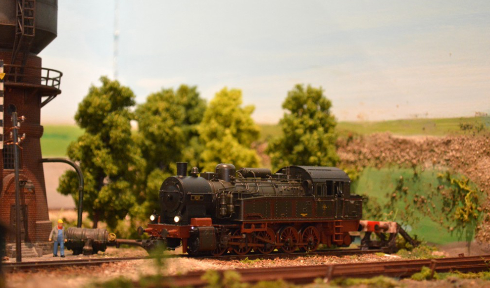 Locomotive e carri a vapore a Model Expo Italy