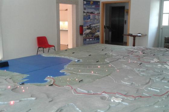 Il plastico interattivo della Grande Guerra a Model Expo Italy