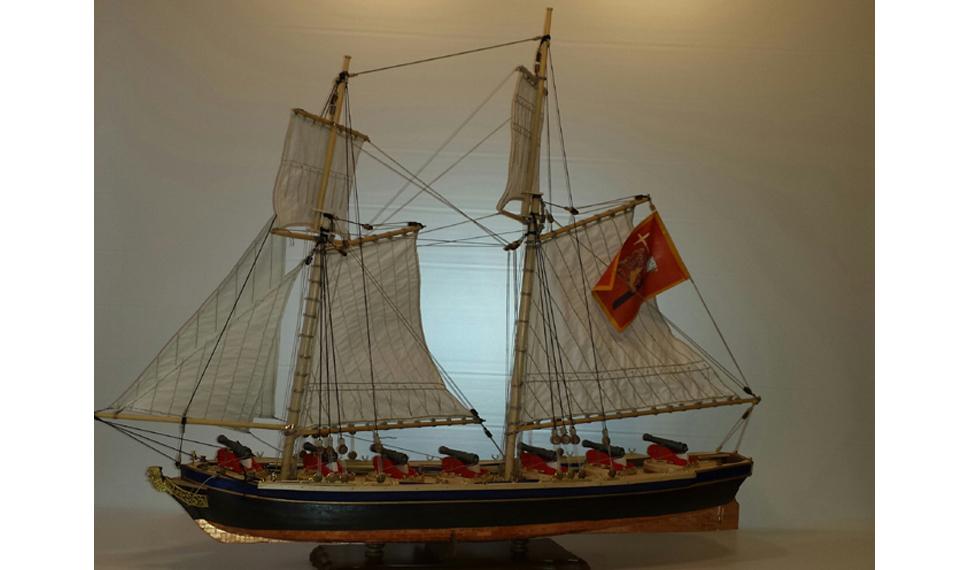 A Model Expo Italy: in mostra Idra, la settecentesca nave cannoniera veneziana