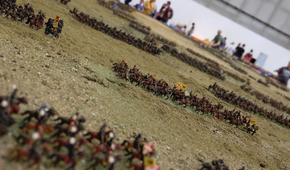 A Verona il modellismo incontra la storia con il plastico della battaglia di Breitenfeld