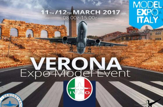 La simulazione di un volo aereo e delle attività di un aeroporto a Model Expo Italy
