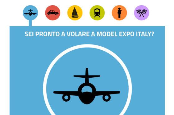 Colleziona le cartoline con i 6 soggetti e diventi protagonista a Model Expo Italy