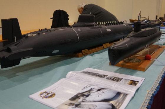 I sommergibili nella Grande Vasca di Model Expo Italy