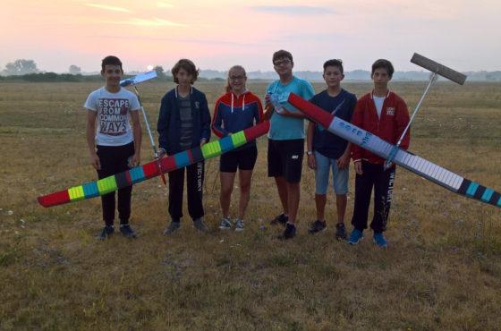 A Model Expo Italy i ragazzi del Campionato Europeo di volo libero