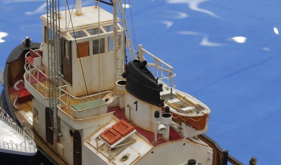 A Model Expo Italy nella Grande Vasca l'esibizione dei battelli a vapore