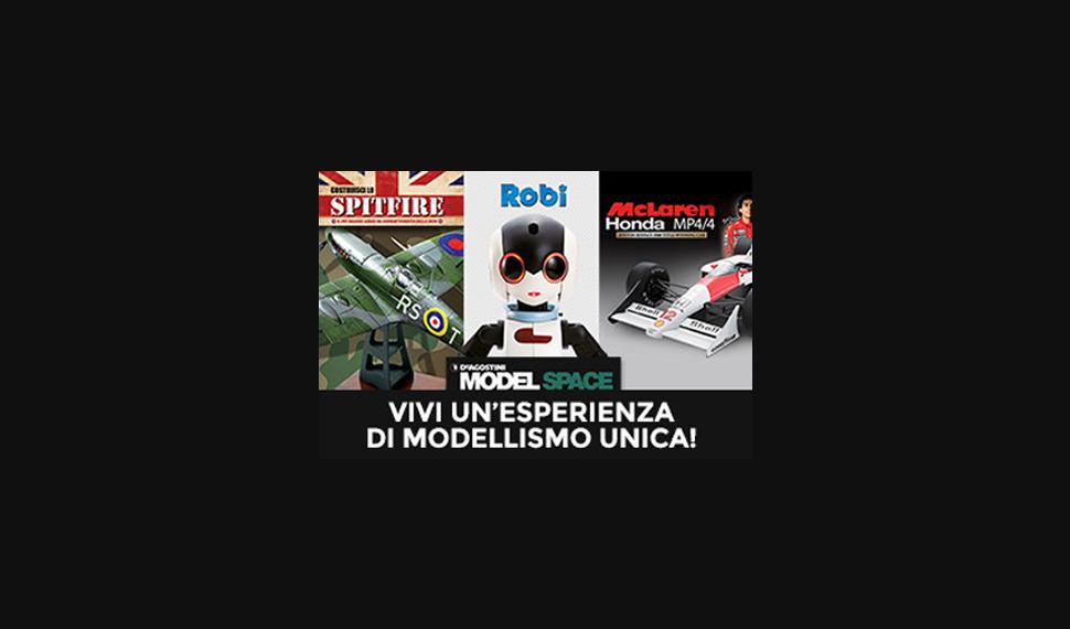 Visita lo stand De Agostini ModelSpace a Model Expo Italy!