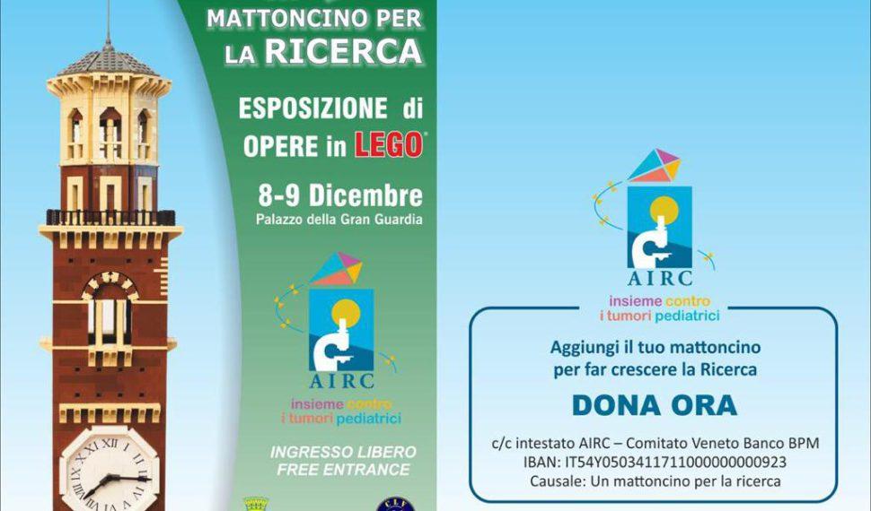 Sabato 8 e domenica 9 dicembre una mostra LEGO a Verona