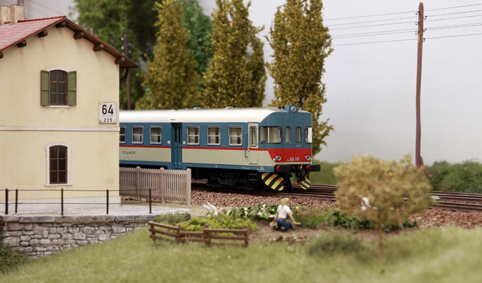 Storia e dettagli della ferrovia vicentina a Model Expo Italy con Fervi