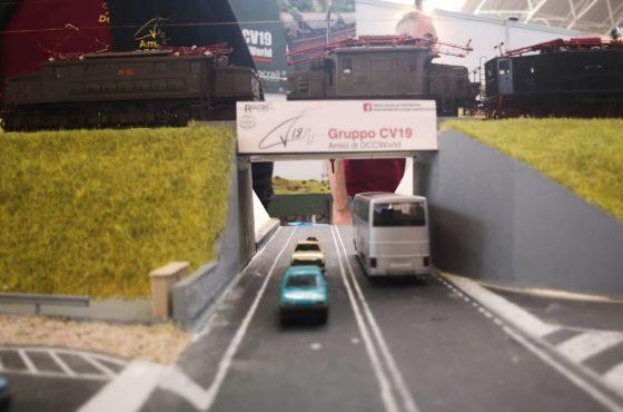 Alla guida di un treno o nei panni di un capo stazione: succede a Model Expo Italy