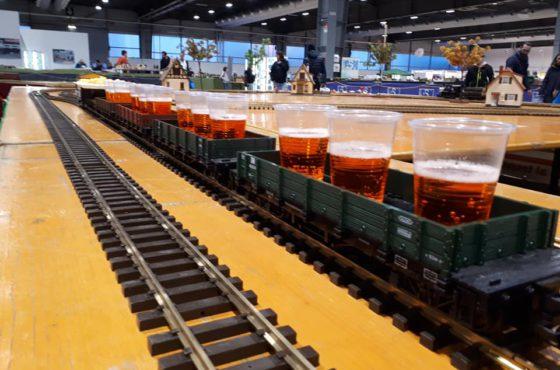 L'Aperitreno a Model Expo Italy