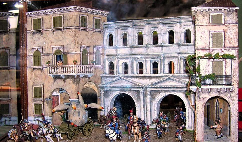 A Model Expo Italy le opere d'arte di AMS-Associazione Modellismo Storico