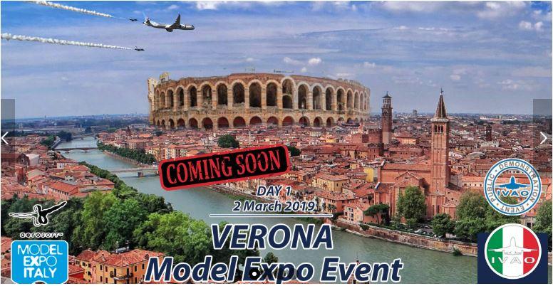 Vola a Model Expo Italy con IVAO