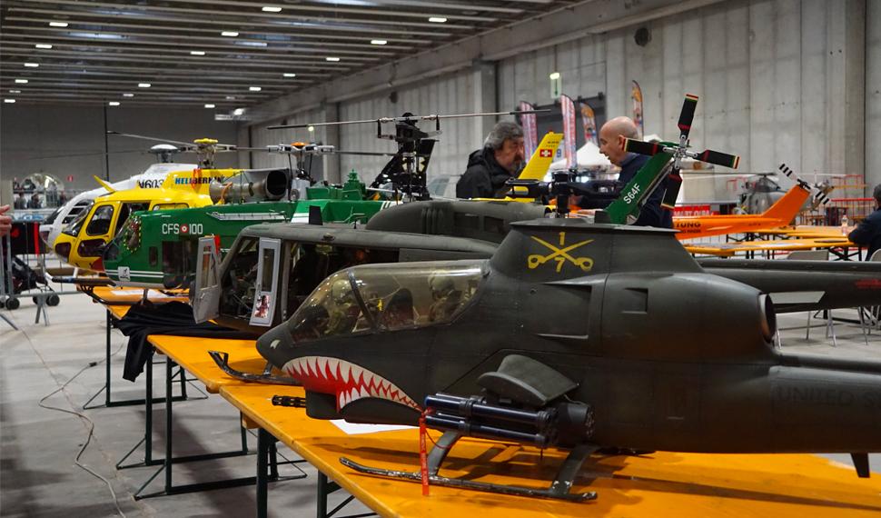 All'insegna della tecnologia l'Area Volo di Model Expo Italy