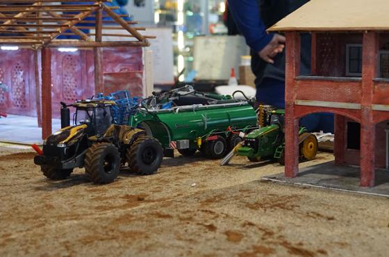 Modellismo agricolo: dai trattori alle ruspe, un trend in crescita