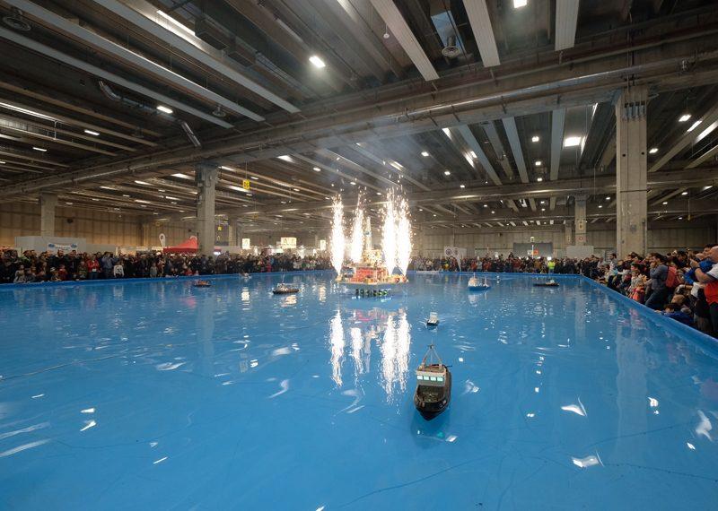 Novità per i più piccoli nel modellismo navale: la vasca di Model Expo raddoppia