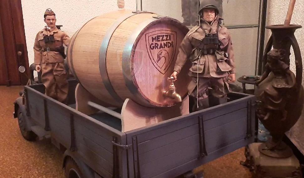 I veicoli della seconda Guerra Mondiale riprodotti da Mezzi Grandi a Model Expo Italy